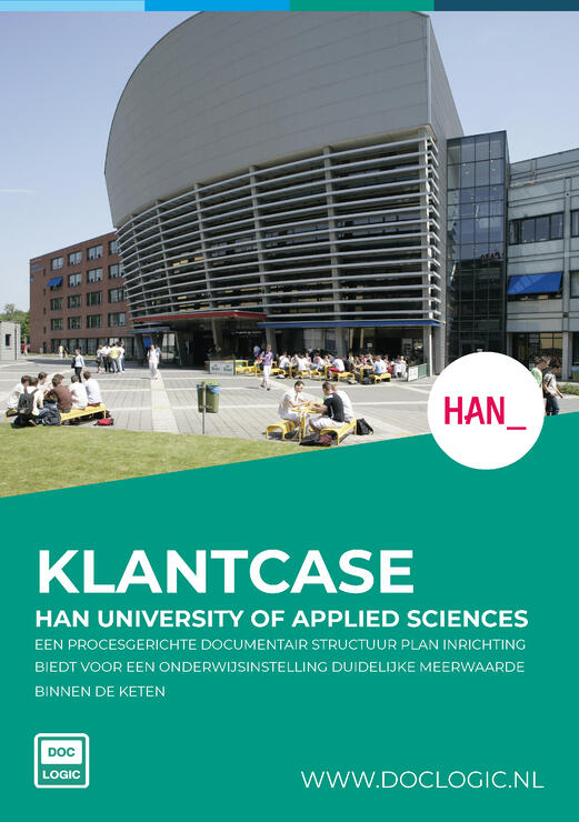 Klantcase HAN University Of Applied Sciences