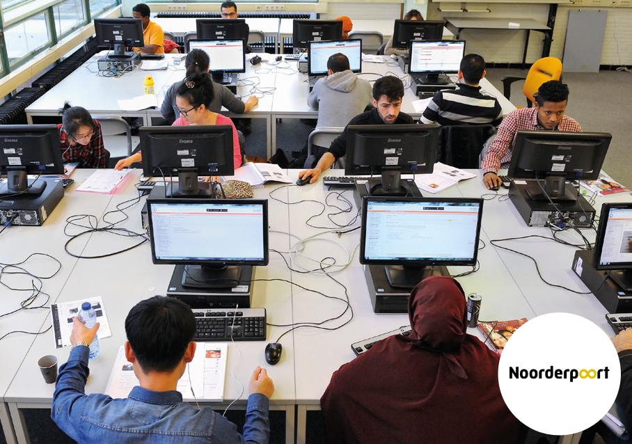 Digitale oplossingen educatie Noorderpoort