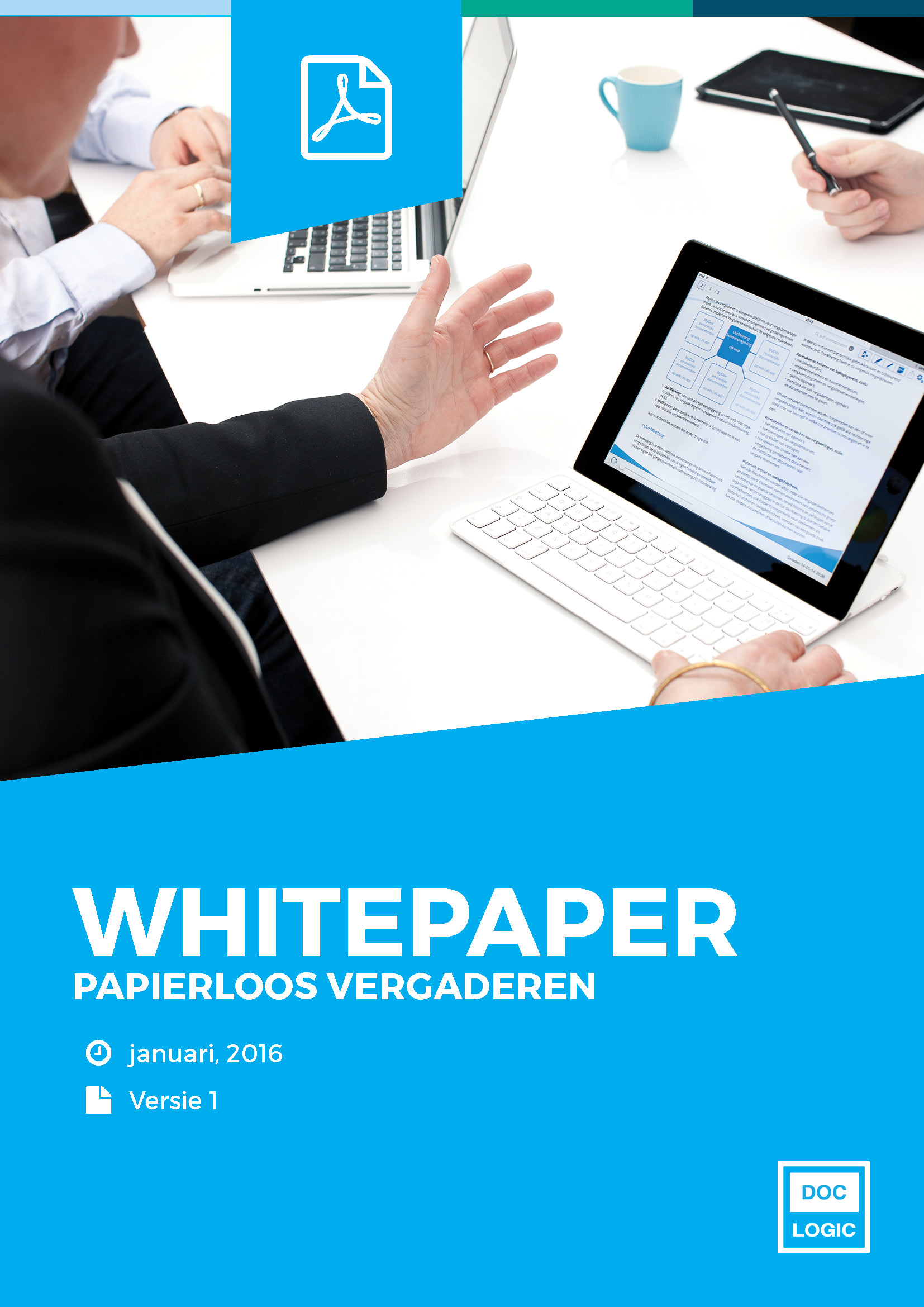 Papierloos vergaderen