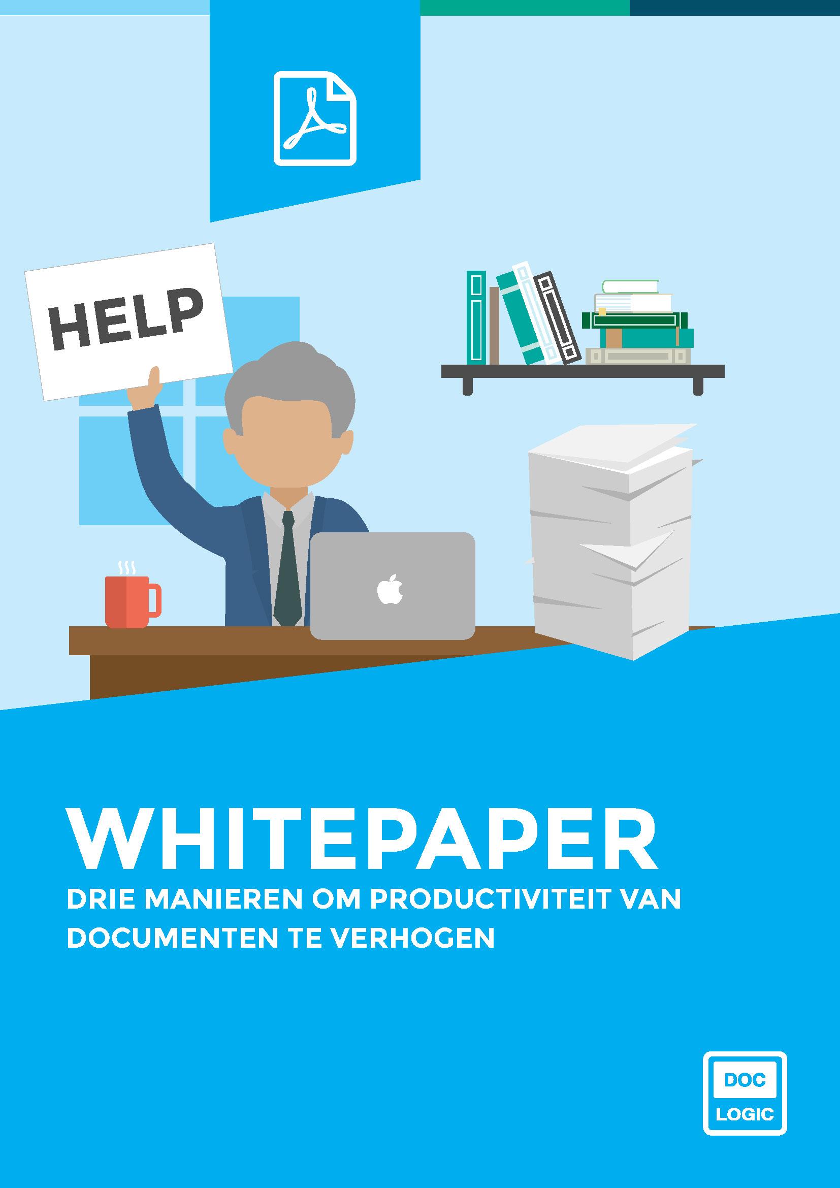 Drie manieren om de productiviteit van documenten te verhogen