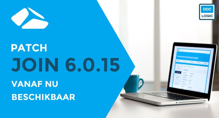 JOIN - Patch 6.0.15 beschikbaar