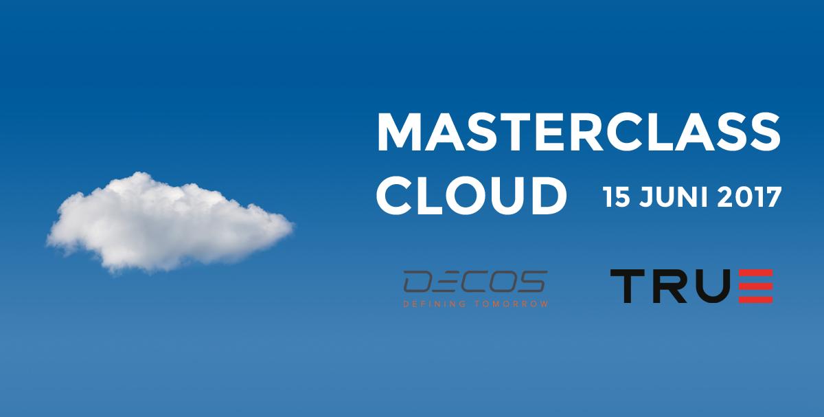 Decos organiseert gratis Masterclass cloud!