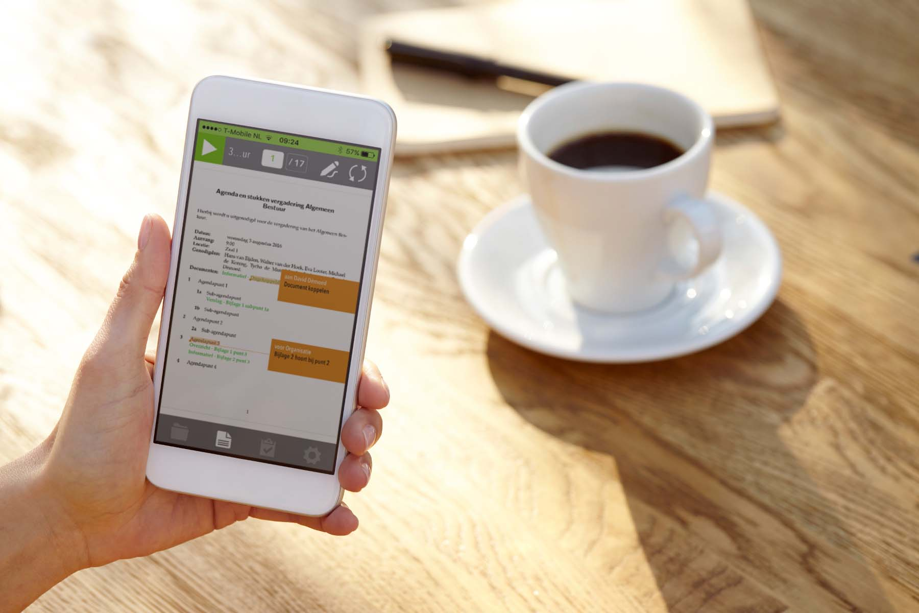 DocWolves brengt iPhone app OurMeeting uit